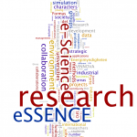 Word Cloud from the eSSENCE self-assessment 2014.